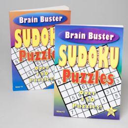 24 Bulk Sudoku Puzzle Book 2 Assorted Volume Puzzles