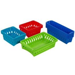 75 Bulk Baskets 3 Sizes 4 Colors In Pdq