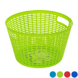 48 Bulk Basket Round 4 Colors In Pdq