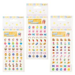48 Bulk Nail Stickers Easter 3ast