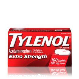 12 Bulk Tylenol EX-Strength 24 Ct Cap