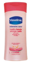6 Bulk Vaseline Intensive Care Lotion 6.76 Oz Healthy Hands/nails In Display