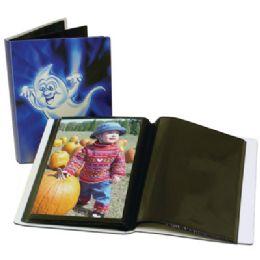 48 Bulk Halloween Photo Album Assorted Designs