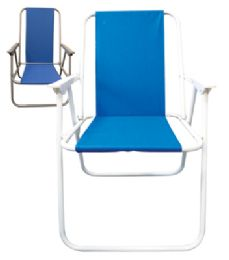 6 Bulk Beach Chair 17 X 19 X 31 Inch Assorted Colors