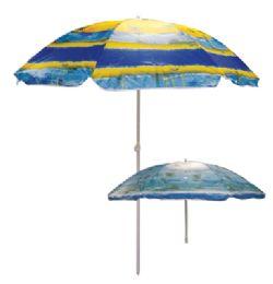 12 Bulk Beach Umbrella 72 Inch Tropical Designs