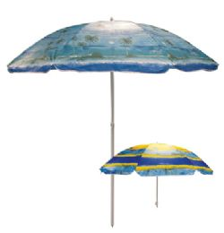 12 Bulk Beach Umbrella 81 Inch Tropical Designs