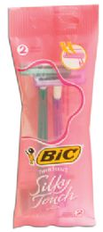 36 Bulk Bic Razor 2 Pack Silky Touch