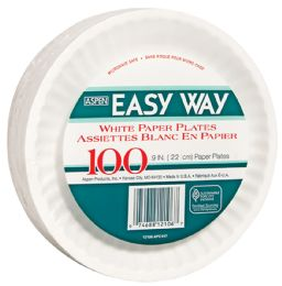 12 Bulk Easy Way 9 100 Ct Paper Plate Microwave Safe