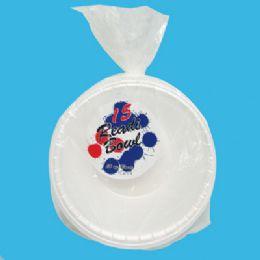 24 Bulk Readi Foam Bowls 15 Ct 20 Oz Made In Usa