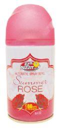 12 Bulk Air Freshener Refill 8.5 Oz Rose