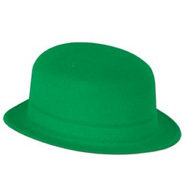 24 Bulk Green Velour Derby one size fits most