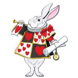 12 Bulk Jointed White Rabbit
