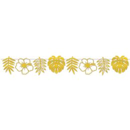 12 Bulk Foil Die-Cut Floral Streamer assembly required
