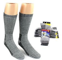 30 Bulk Men's Thermal Merino Wool Crew Socks