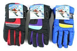 36 Bulk Children's Ski Gloves
