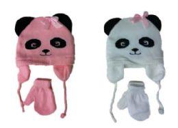 48 Bulk Baby Hat & Glove Set