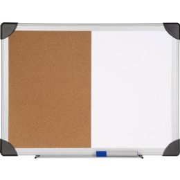 Bulk Lorell Dry Erase/cork Board Combination
