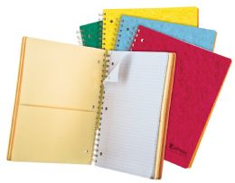 "20 Bulk Tops Earthwise By Oxford 4 Subject Notebook, 11"" X 8 7/8"", 200 Sheets, College Ruled, Assorted Colors"