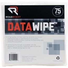 288 Bulk Read Right Datawipe Rr1250 Cleaning Wipe