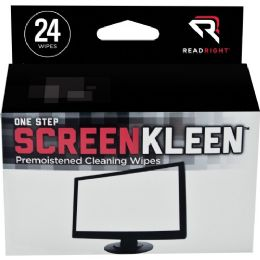 408 Bulk Read Right Onestep Crt Screen Cleaning Wipes