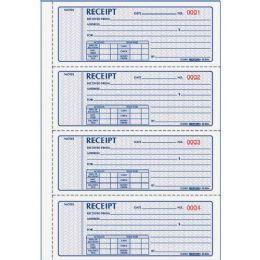 Bulk Rediform 3-Pt Carbonless Money Receipt Book