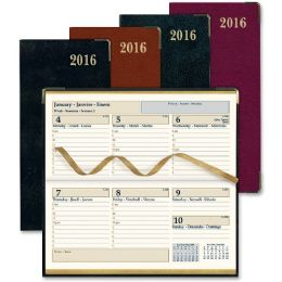 50 Bulk Rediform Aristo Bonded Leather Weekly Executive Pocket Planners