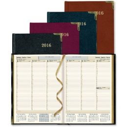 25 Bulk Rediform Aristo BondeD-Leather Weekly Executive Planner