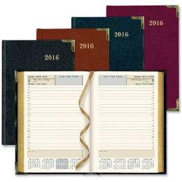 25 Bulk Rediform Bonded Leather Daily Executive Planner