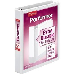 12 Bulk Cardinal Xtravalue Clearvue SlanT-D Ring Binder