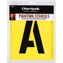 Bulk Chartpak Painting Letters/numbers Stencils