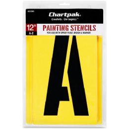 11 Bulk Chartpak Painting Stencil Set