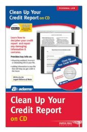Bulk Clean Up Your Credit File, Cd Version