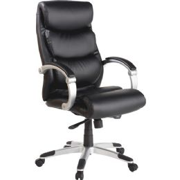 Bulk Lorell Executive Bonded Leather HigH-Back Chair