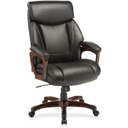 Bulk Lorell Executive Cushioned Spinning Chair