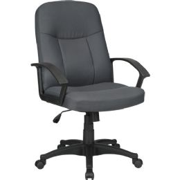 Bulk Lorell Executive Fabric MiD-Back Chair