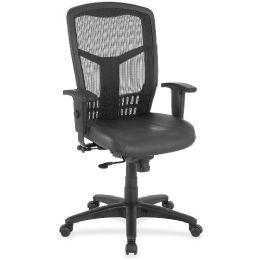 Bulk Lorell Executive HigH-Back Swivel Chair