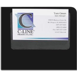 Bulk C-Line 70257 Top Load Business Card Holder