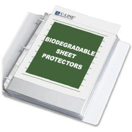 40 Bulk C-Line Biodegradable Sheet Protector