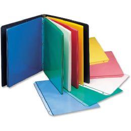 Bulk C-Line Colored Polypropylene Sheet Protector, Assorted Colors, 11 X 8 1/2, 50/bx