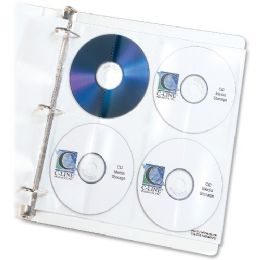 70 Bulk C-Line Deluxe Cd Ring Binder Storage