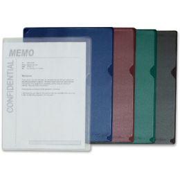 Bulk C-Line Deluxe Colored Back Vinyl Folders