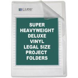Bulk C-Line Deluxe NoN-Glare Vinyl Project Folder