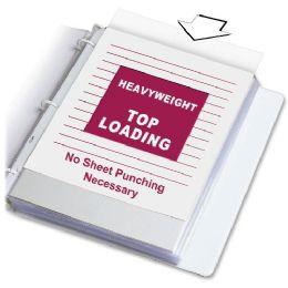 Bulk C-Line Heavyweight Polypropylene Sheet Protector, Clear, 11 X 8 1/2, 100/bx