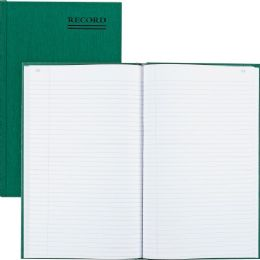 32 Bulk Rediform Green Bookcloth Margin Record Books