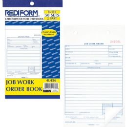 Bulk Rediform Job Work Order Book
