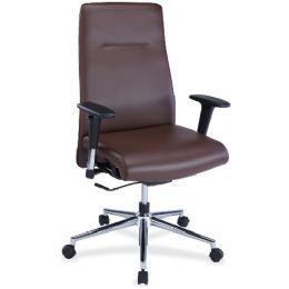 Bulk Lorell Leather Suspension Chair