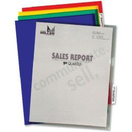 30 Bulk C-Line Project Folder With Index Tabs