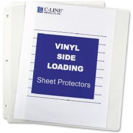 Bulk C-Line Side Loading Sheet Protector