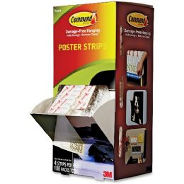 Bulk Command Small Poster Strips Pack