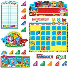 48 Bulk Trend Blockstars Calendar Bulletin Board Set